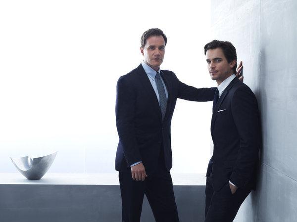 Matt Bomer and Tim DeKay in White Collar (2009)