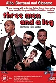Tre uomini e una gamba (1997) Poster - Movie Forum, Cast, Reviews
