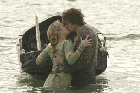 James Franco and Sophia Myles in Tristan + Isolde (2006)