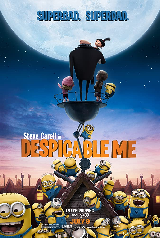 Despicable Me (2010)     Cover