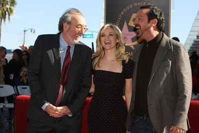 Reese Witherspoon, James L. Brooks, and James Mangold