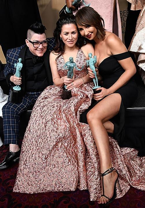 Lea DeLaria, Yael Stone, and Jackie Cruz