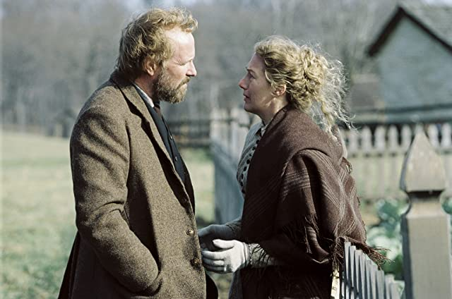William Hurt and Jayne Atkinson in The Village (2004)