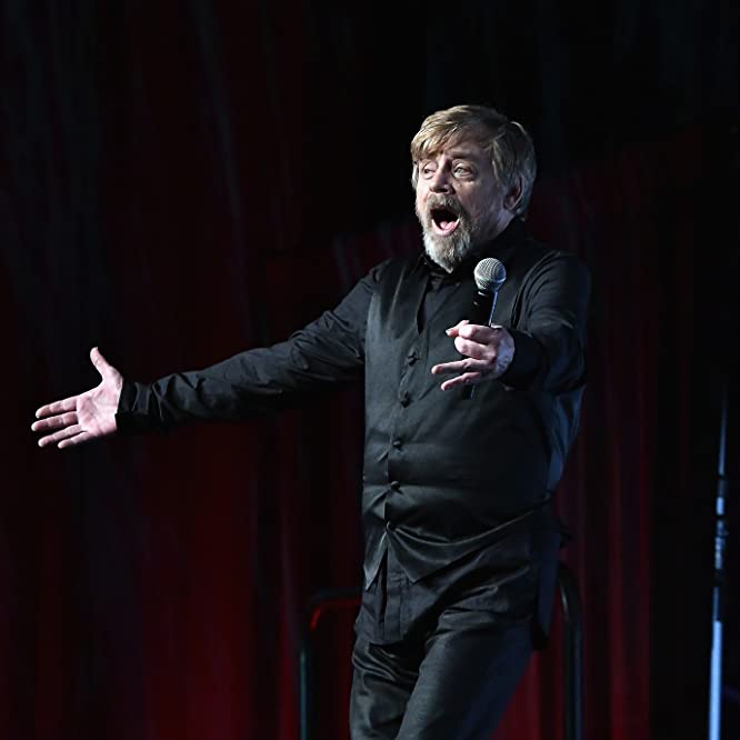 Mark Hamill at an event for Star Wars: The Last Jedi (2017)