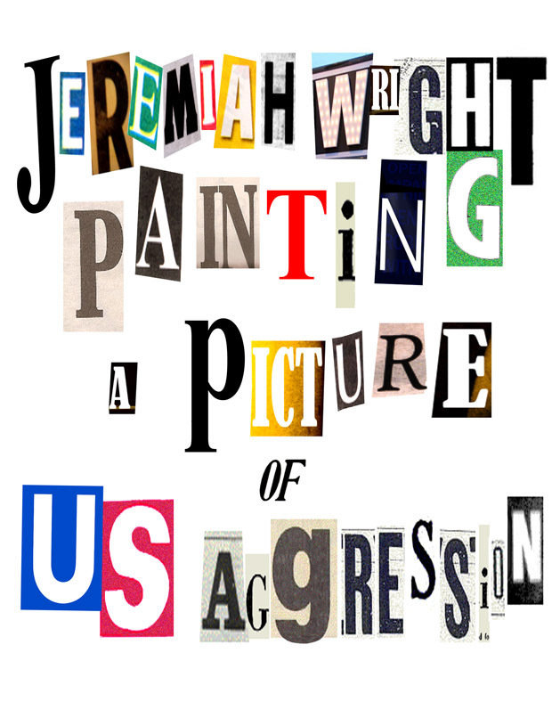 Image Jeremiah Wright Painting a Picture of US Aggression (2008) (V) Watch Full Movie Free Online