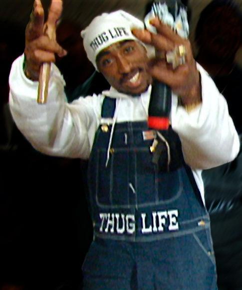 Tupac Shakur in Tupac: Resurrection (2003)