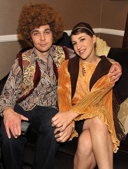 Mayim Bialik and Jim Parsons