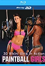 3D Bikini Girls in Action: Paintball Girls