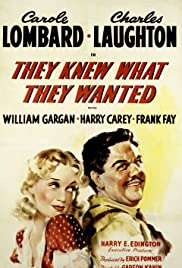 They Knew What They Wanted (1940) Poster - Movie Forum, Cast, Reviews