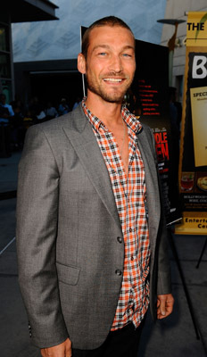 Andy Whitfield at Middle Men (2009)