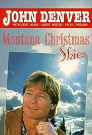 Montana Christmas Skies Poster