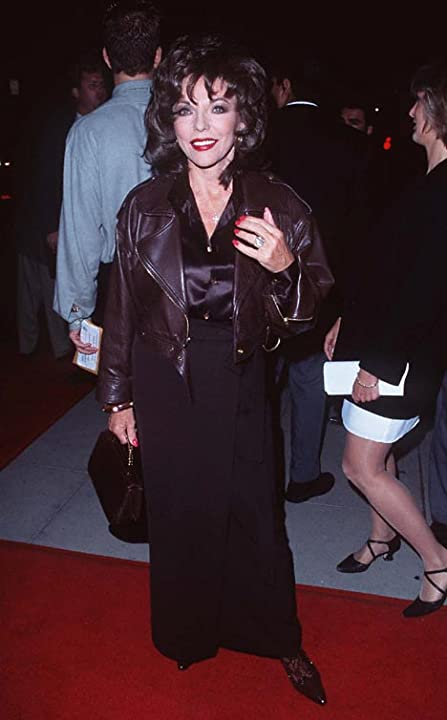 Joan Collins at Michael Collins (1996)