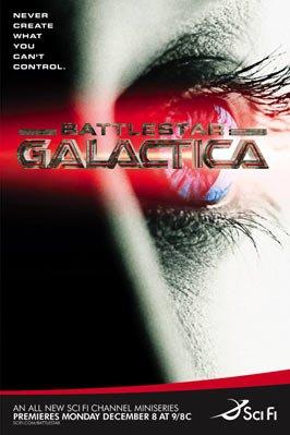 Poster Battlestar Galactica: Die Miniserie