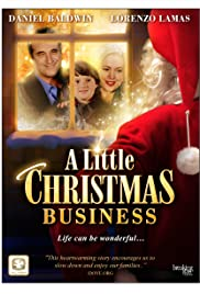 A Little Christmas Business Poster