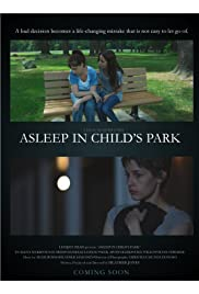Asleep in Child's Park Poster