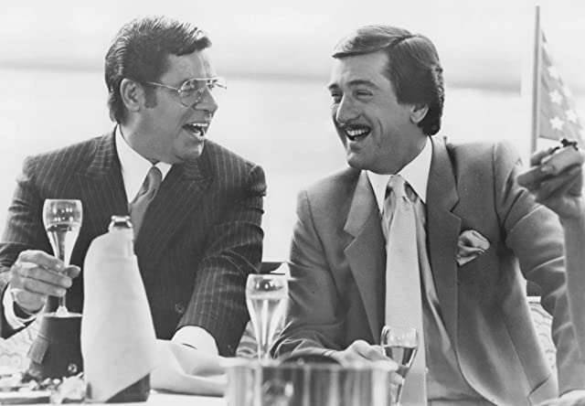 Robert De Niro and Jerry Lewis in The King of Comedy (1982)