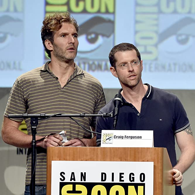 David Benioff and D.B. Weiss at an event for Game of Thrones (2011)