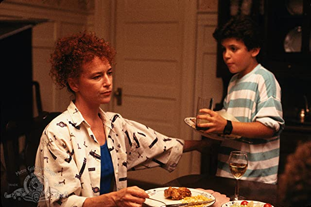 Fred Savage and Margaret Whitton in Little Monsters (1989)