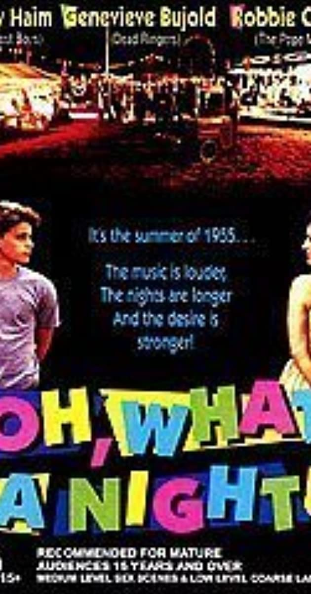Oh, What a Night (1992 film) Oh What a Night 1992 IMDb