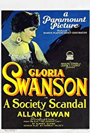 A Society Scandal Poster