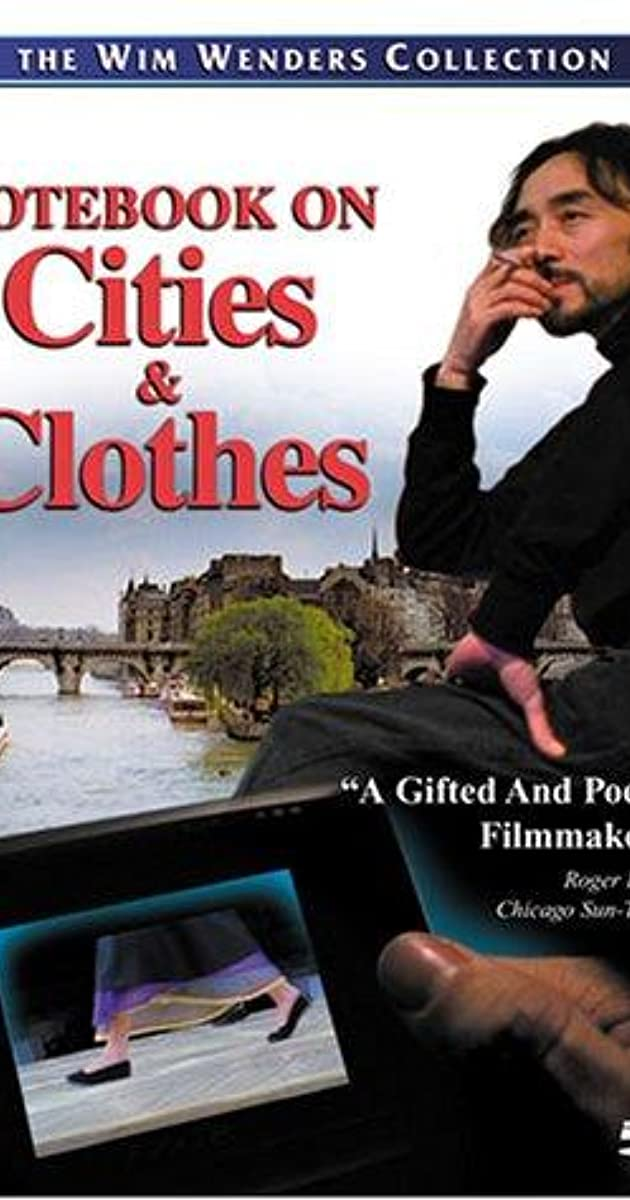 A Notebook on Clothes And Cities Legendado