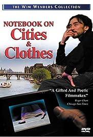 Aufzeichnungen zu Kleidern und Städten Poster