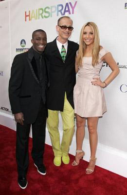 John Waters, Amanda Bynes, and Elijah Kelley at an event for Hairspray (2007)