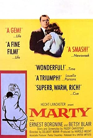 Poster Marty