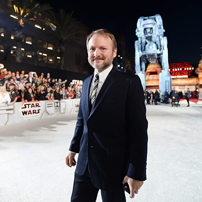 Rian Johnson at an event for Star Wars: The Last Jedi (2017)