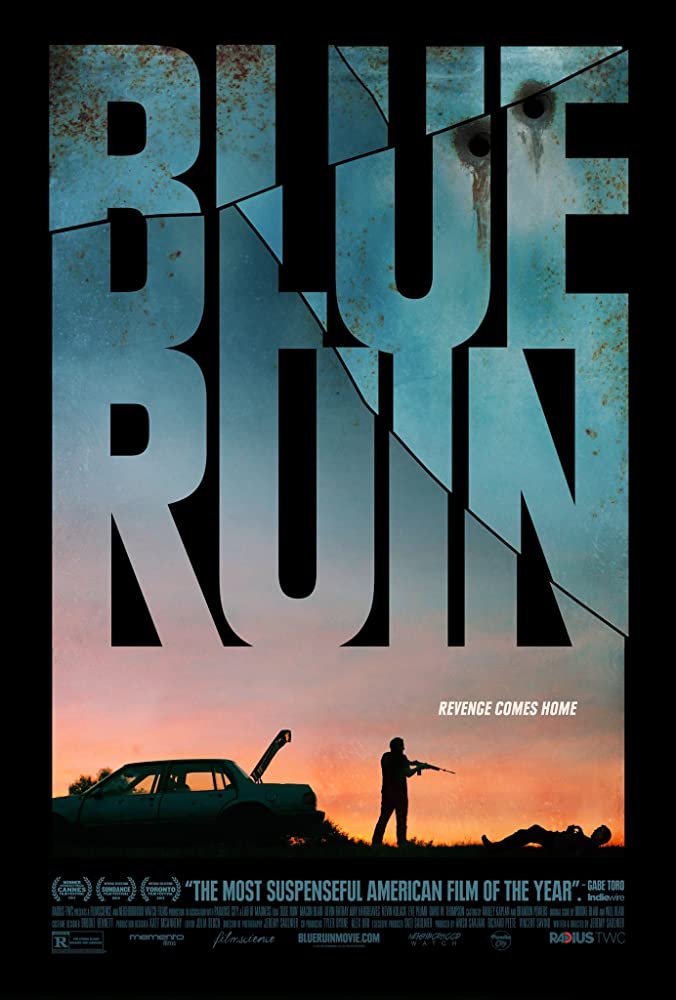 Blue Ruin cartel de la película