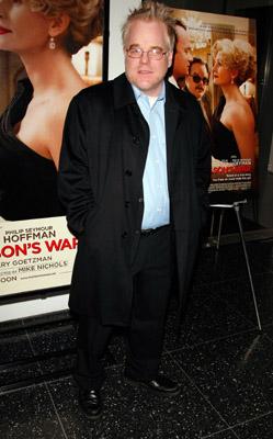 Philip Seymour Hoffman at Charlie Wilson's War (2007)