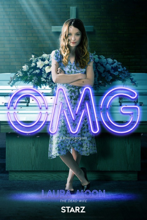 Emily Browning as Laura Moon (American Gods)