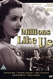 Millions Like Us (1943) Poster - Movie Forum, Cast, Reviews