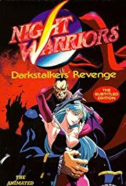 Night Warriors: Darkstalkers' Revenge Poster