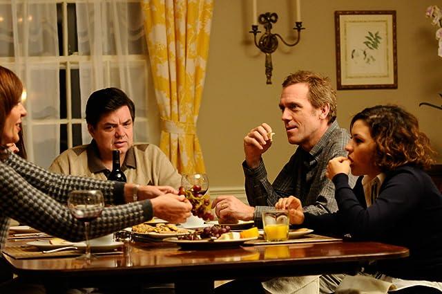 Oliver Platt, Allison Janney, Hugh Laurie, and Alia Shawkat in The Oranges (2011)