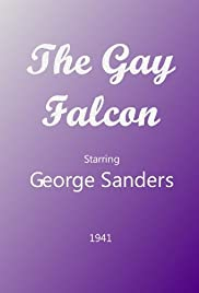 The Gay Falcon Poster