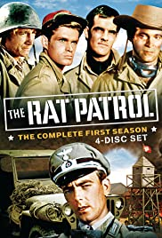 The Rat Patrol Poster - TV Show Forum, Cast, Reviews