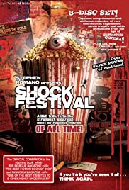 Stephen Romano Presents Shock Festival Poster