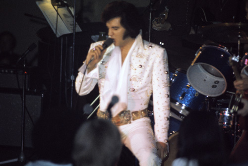 Elvis Presley circa 1970s