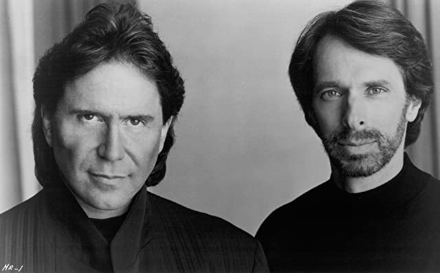 Jerry Bruckheimer and Don Simpson in Days of Thunder (1990)