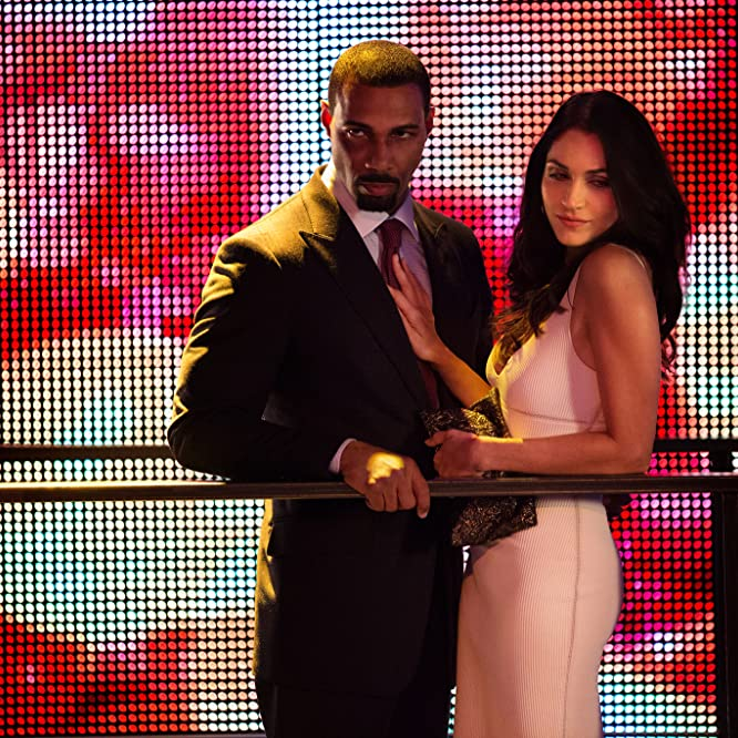 Omari Hardwick and Lela Loren in Power (2014)