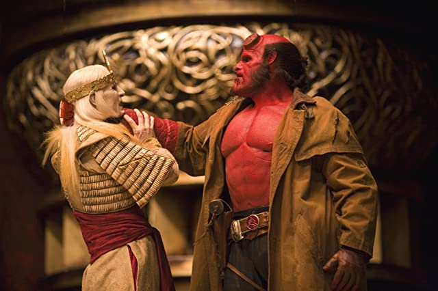 Ron Perlman and Luke Goss in Hellboy II: The Golden Army (2008)