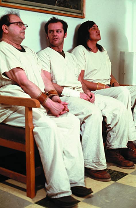 Jack Nicholson, Sydney Lassick, and Will Sampson in One Flew Over the Cuckoo's Nest (1975)