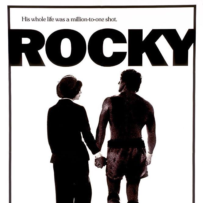 Sylvester Stallone y Talia Shire en Rocky (1976)