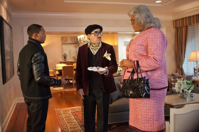 Eugene Levy, Romeo Miller, and Tyler Perry in Madea's Witness Protection (2012)