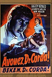 Confess, Dr. Corda Poster