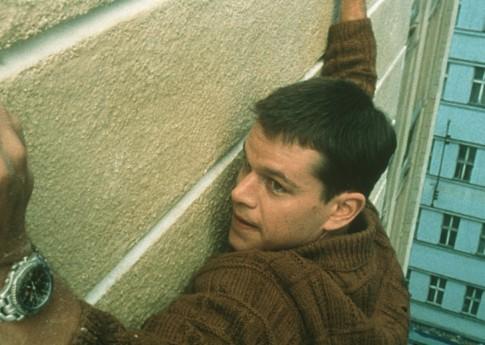 Matt Damon in The Bourne Identity (2002)