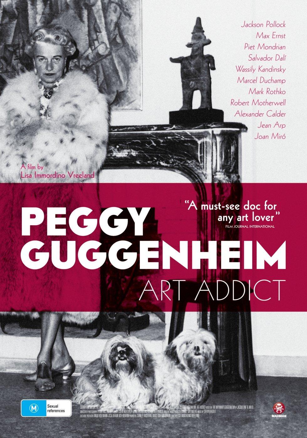 Peggy Guggenheim: Art Addict(2015) - A l'affiche
