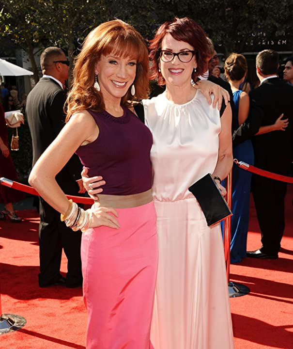 Kathy Griffin and Megan Mullally