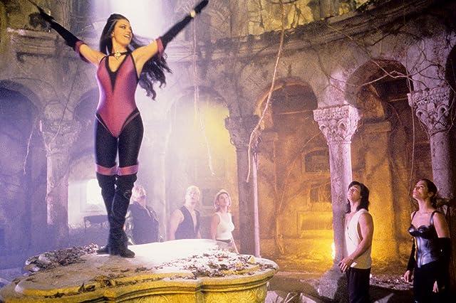 Talisa Soto, James Remar, Sandra Hess, Robin Shou, Musetta Vander, and Lynn 'Red' Williams in Mortal Kombat: Annihilation (1997)